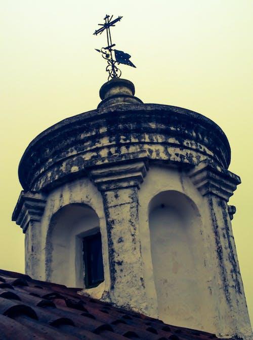 Gratis lagerfoto af kirke, kors, kunst, tårn