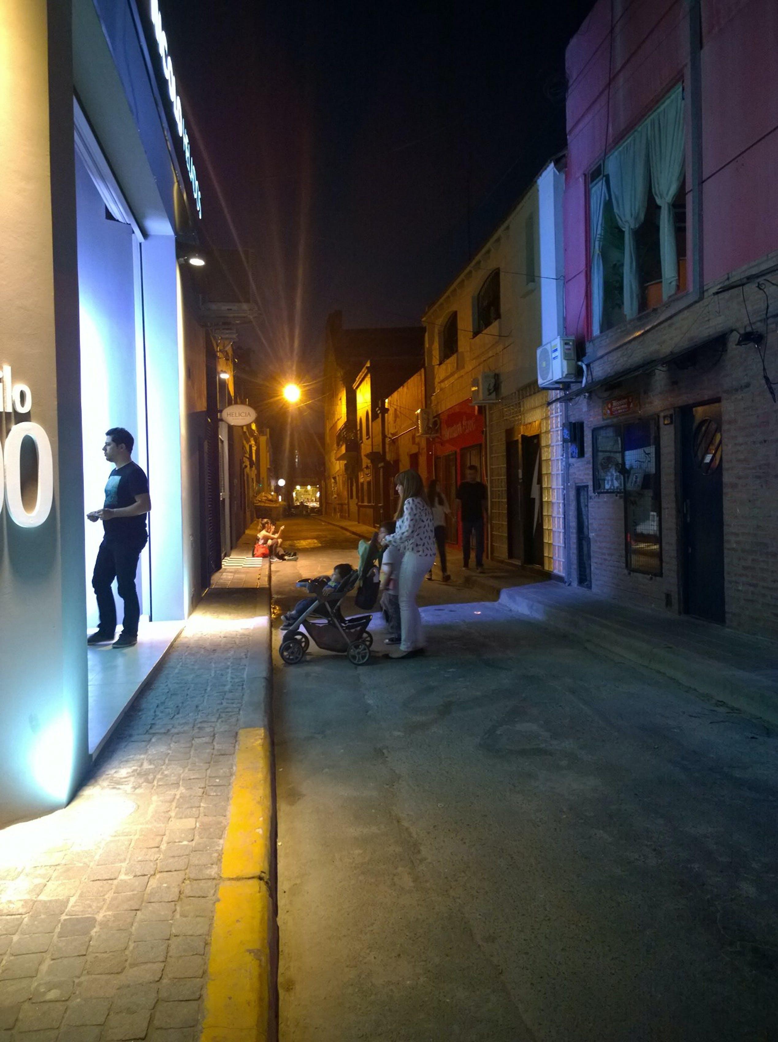 Free stock photo of city, lights, night, street