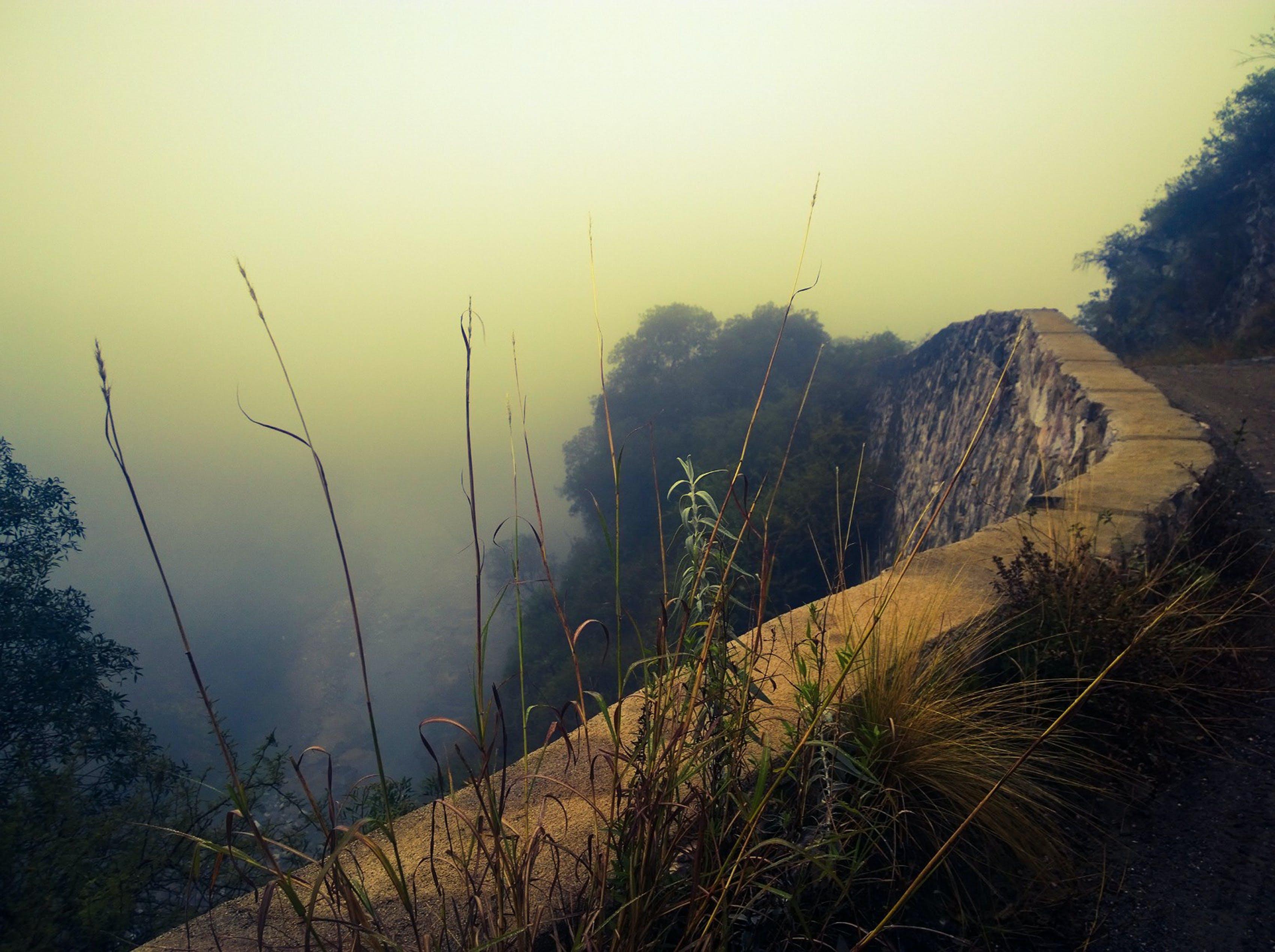 Δωρεάν στοκ φωτογραφιών με βουνό, οδός, ομίχλη, φύση