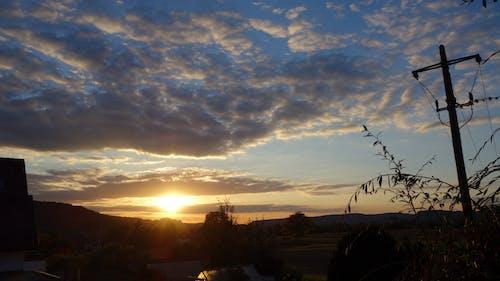 Fotobanka sbezplatnými fotkami na tému Nemecko, západ slnka