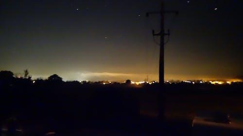 도시의 불빛, 독일, 밤의 무료 스톡 사진