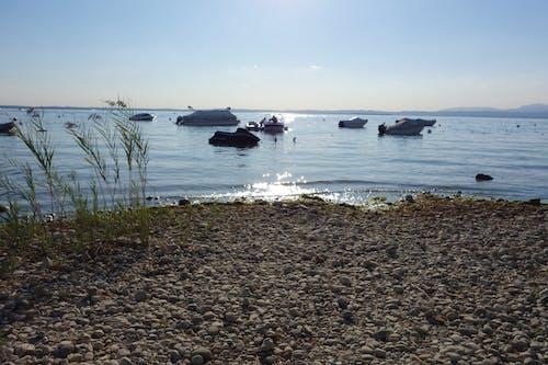 Foto d'estoc gratuïta de Itàlia, llac garda, sol