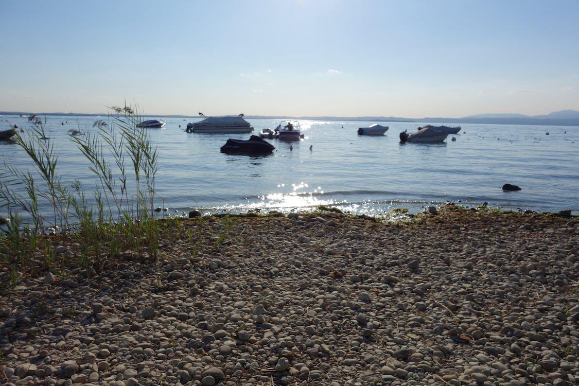 Itàlia, llac garda, sol