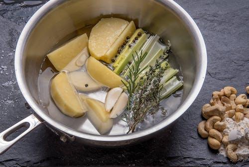 Free stock photo of herbs, pot