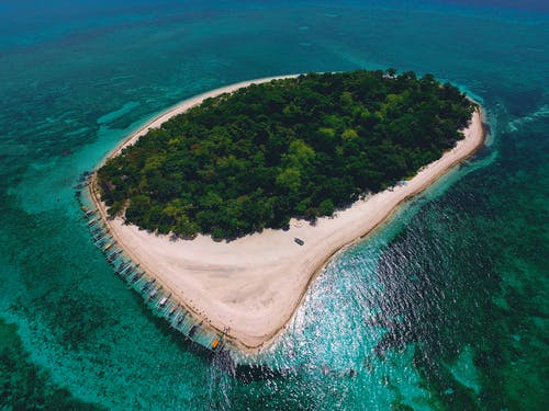 Ilmainen kuvapankkikuva tunnisteilla droonikuva, filippiinit, lintuperspektiivi, luonto