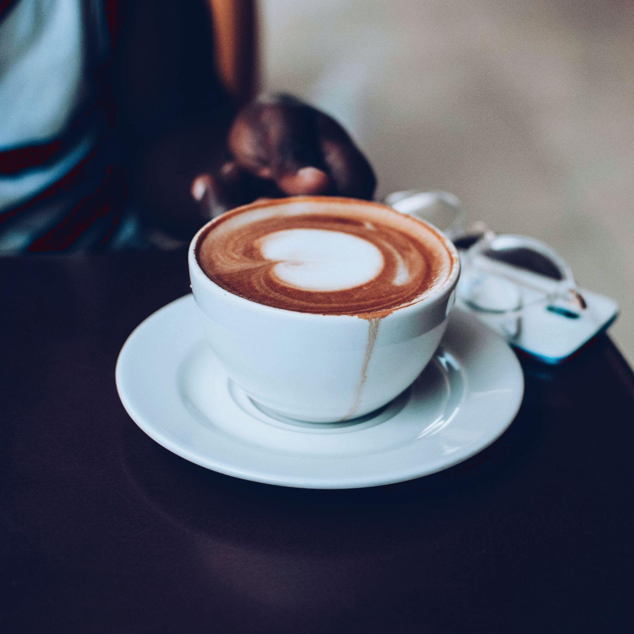 Close-Up Photo of Latte Art