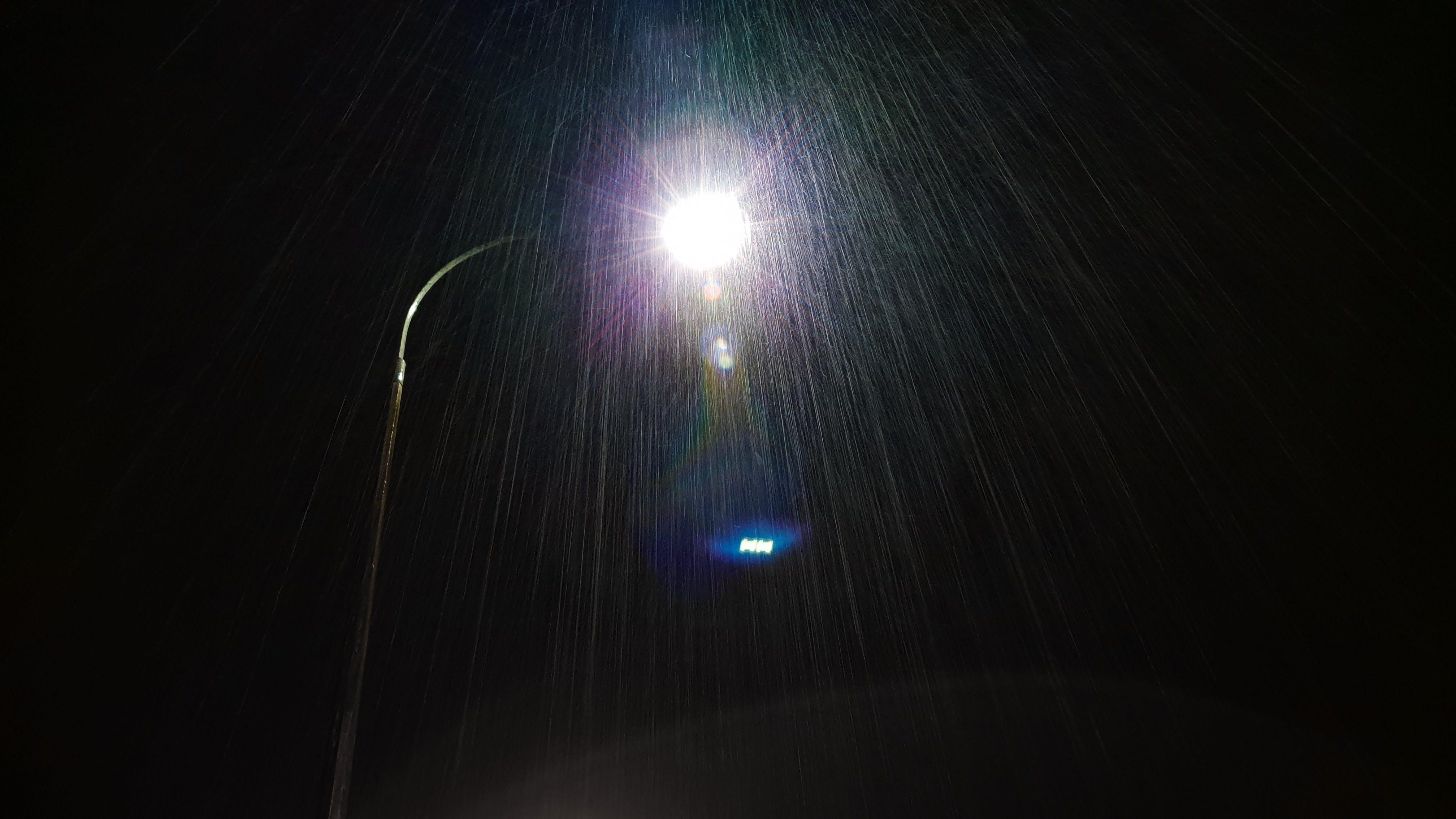 Kostenloses Stock Foto zu abendhimmel, aufnahme von unten, dunkel, feuchtigkeit