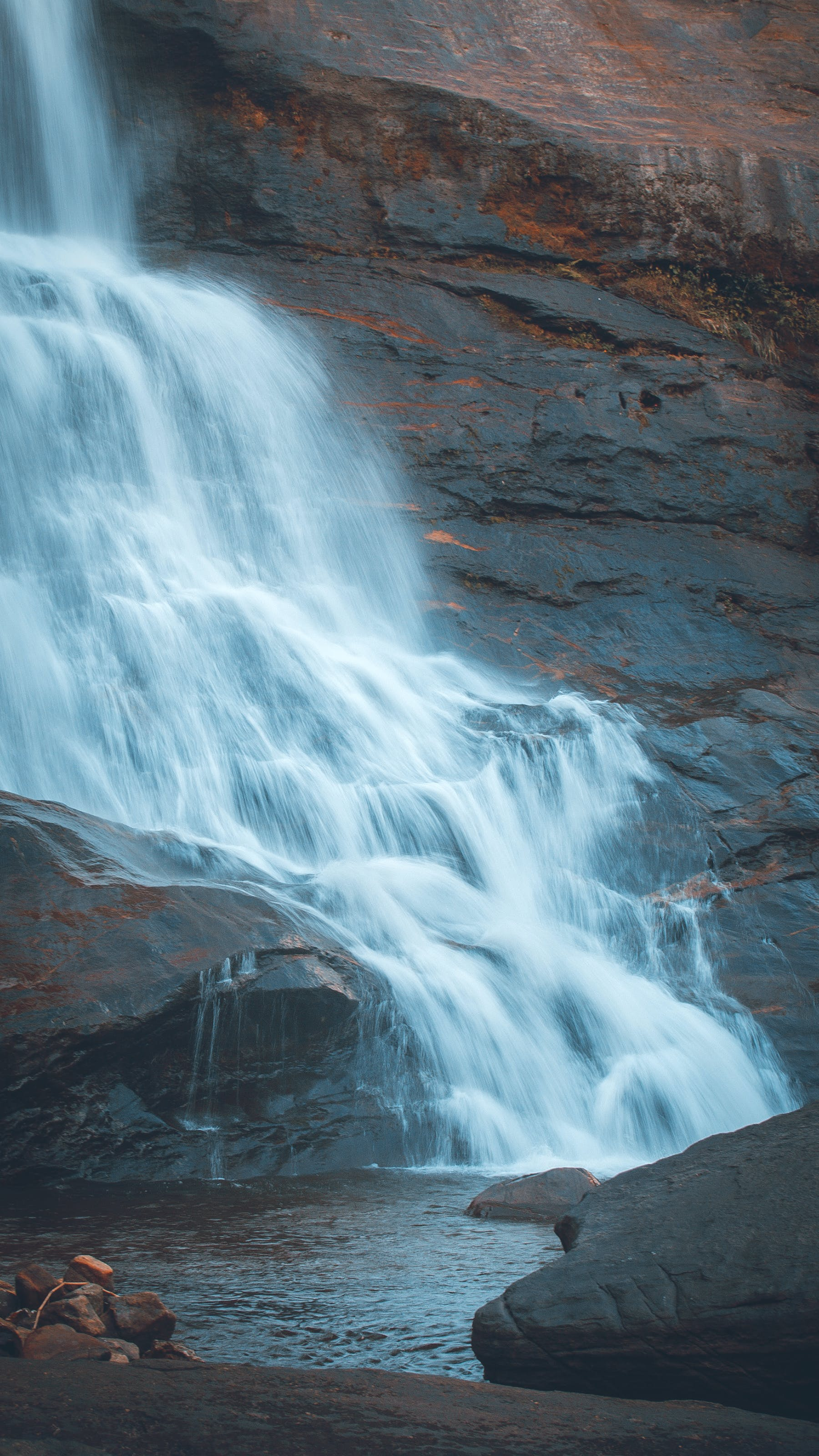 Free stock photo of home screen, iphone wallpaper, lock screen wallpaper, waterfall