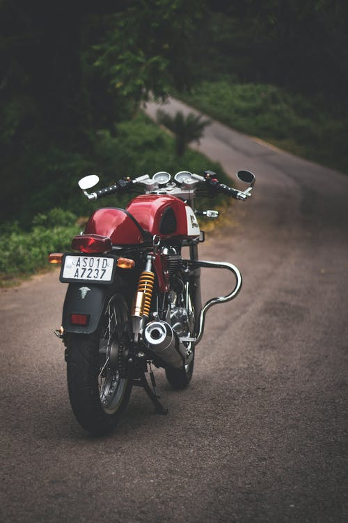 Photo Of Motorcycle Parked On Road