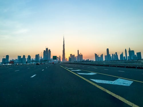 Free stock photo of building, burj khalifa, dubai, roads
