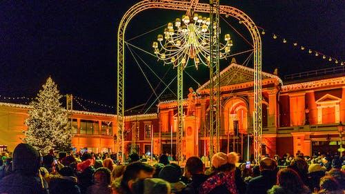 зима, клайпеда, праздник, рождество içeren Ücretsiz stok fotoğraf