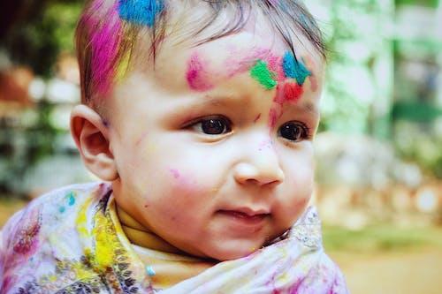 Základová fotografie zdarma na téma barvy, děti, děti portrét, dítě