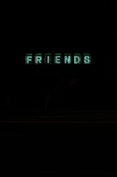 Green Friends Text