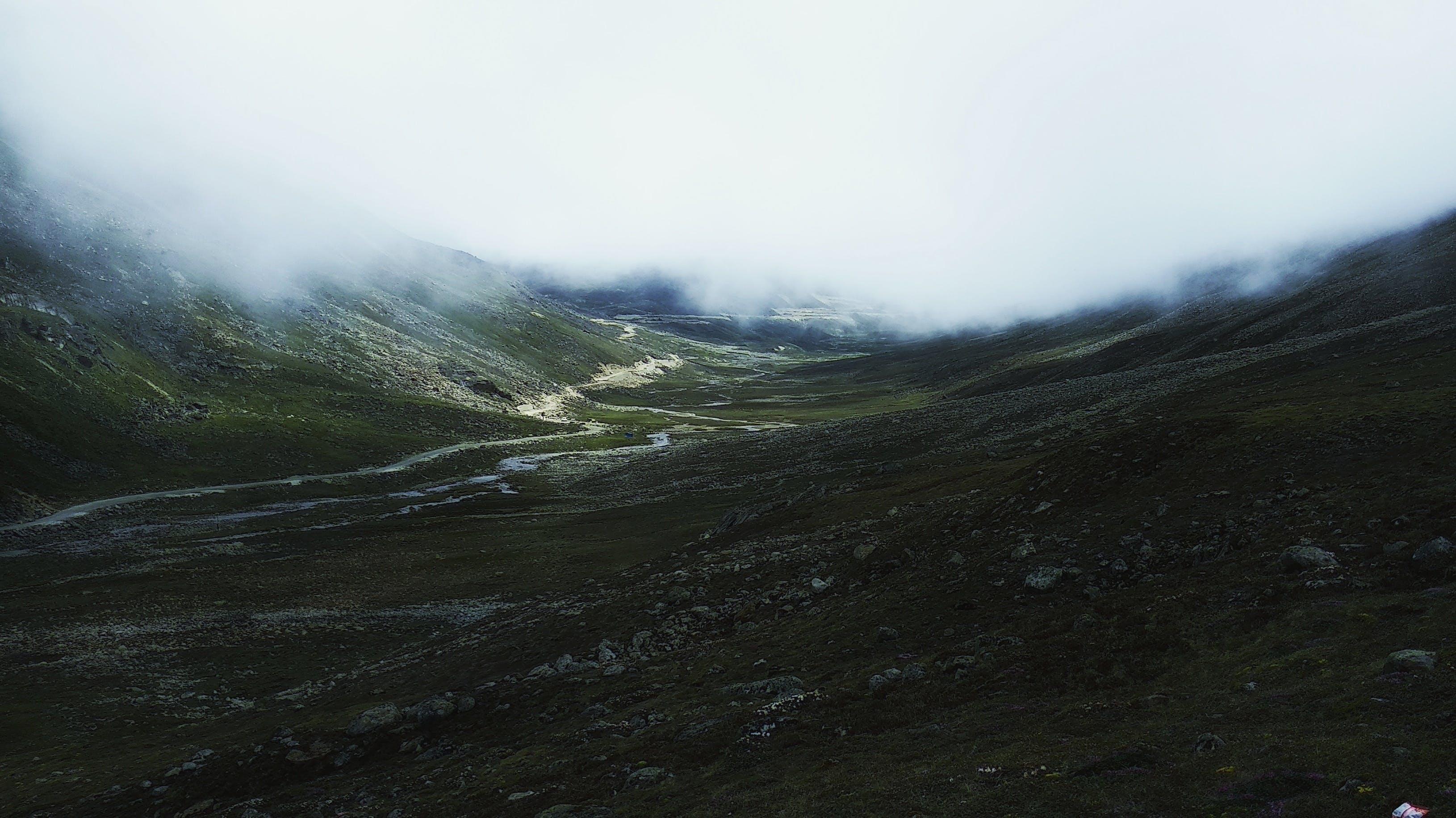 White Clouds Near Green Mountain