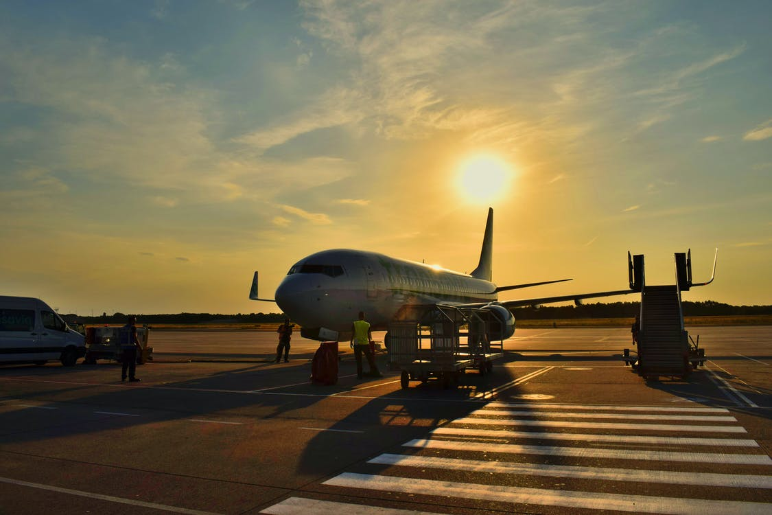Free stock photo of airplane, airport, boarding