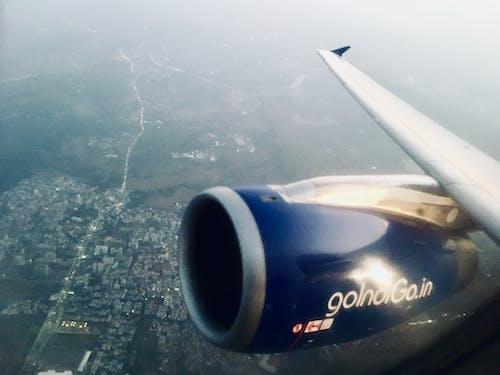 Immagine gratuita di #fly #high #airplane #clouds #city #view