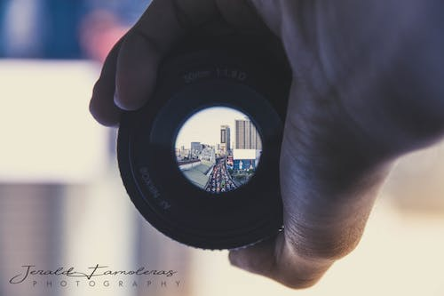 Free stock photo of lens, street photography