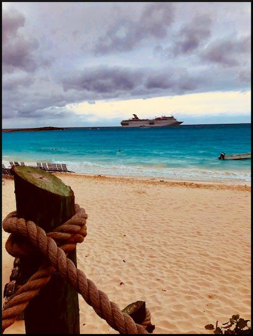 Gratis stockfoto met carnival cruise, cruiseboot, halve maan cay, oceaan