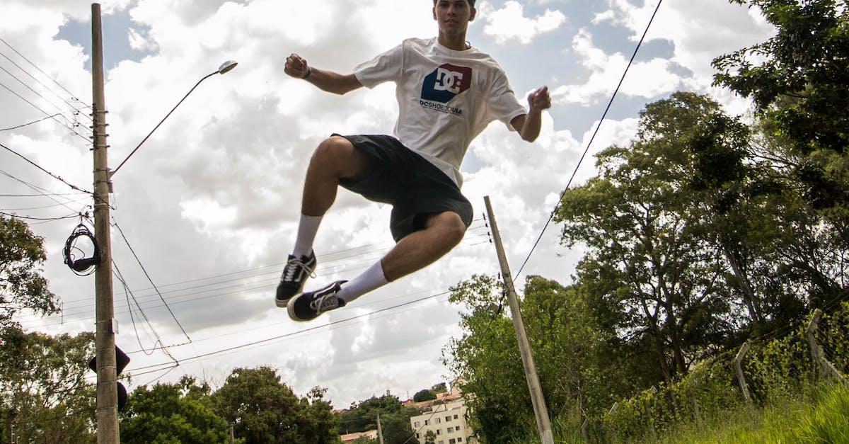 как сделать крутое фото в прыжке прямо или