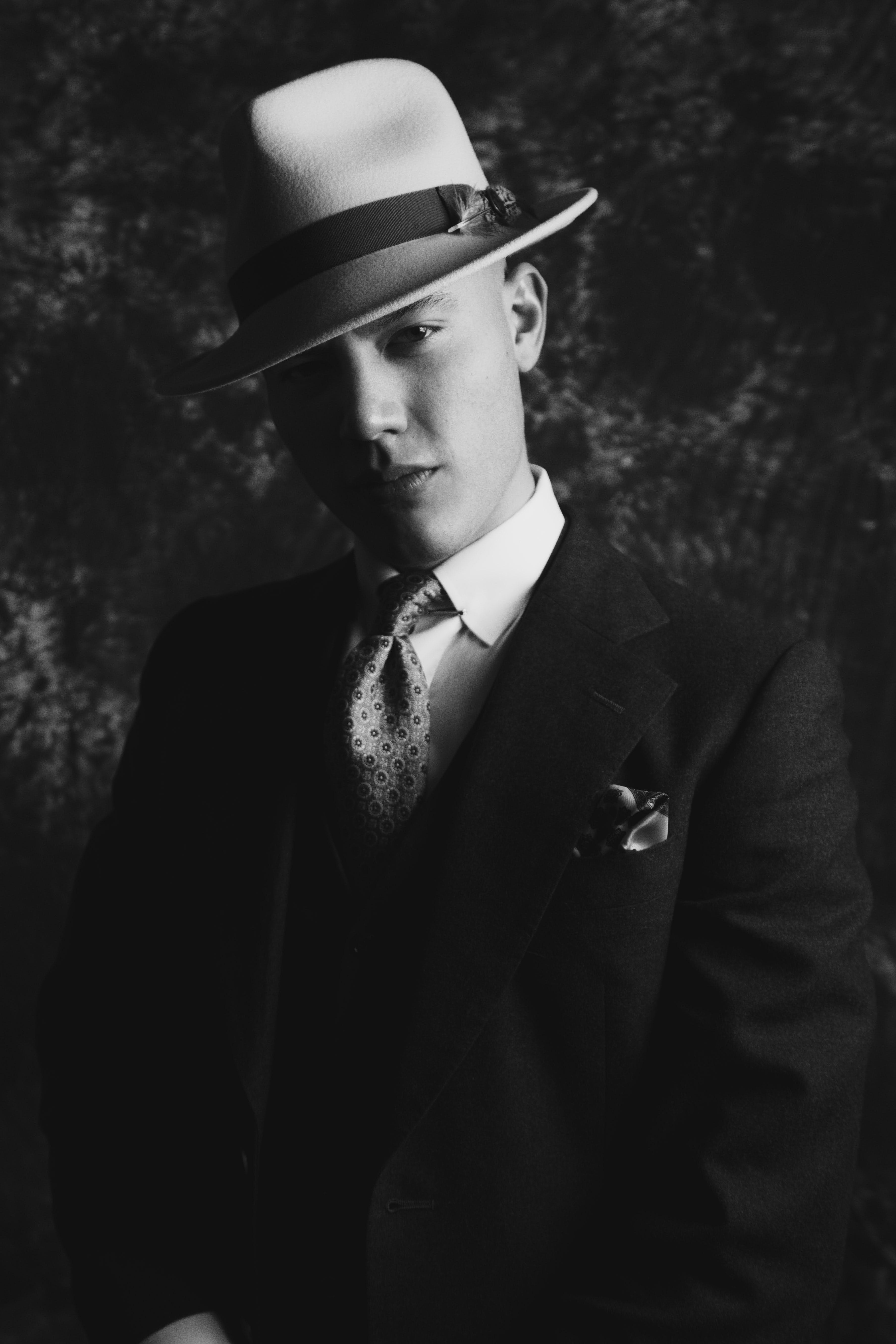 Free stock photo of 1920's, gatsby, portrait, portraiture