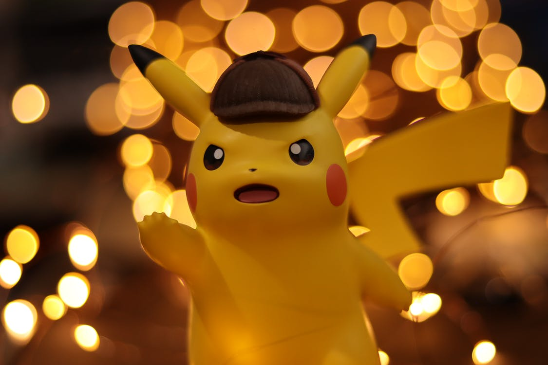 Close-up Photo of Pokemon Pikachu Figurine