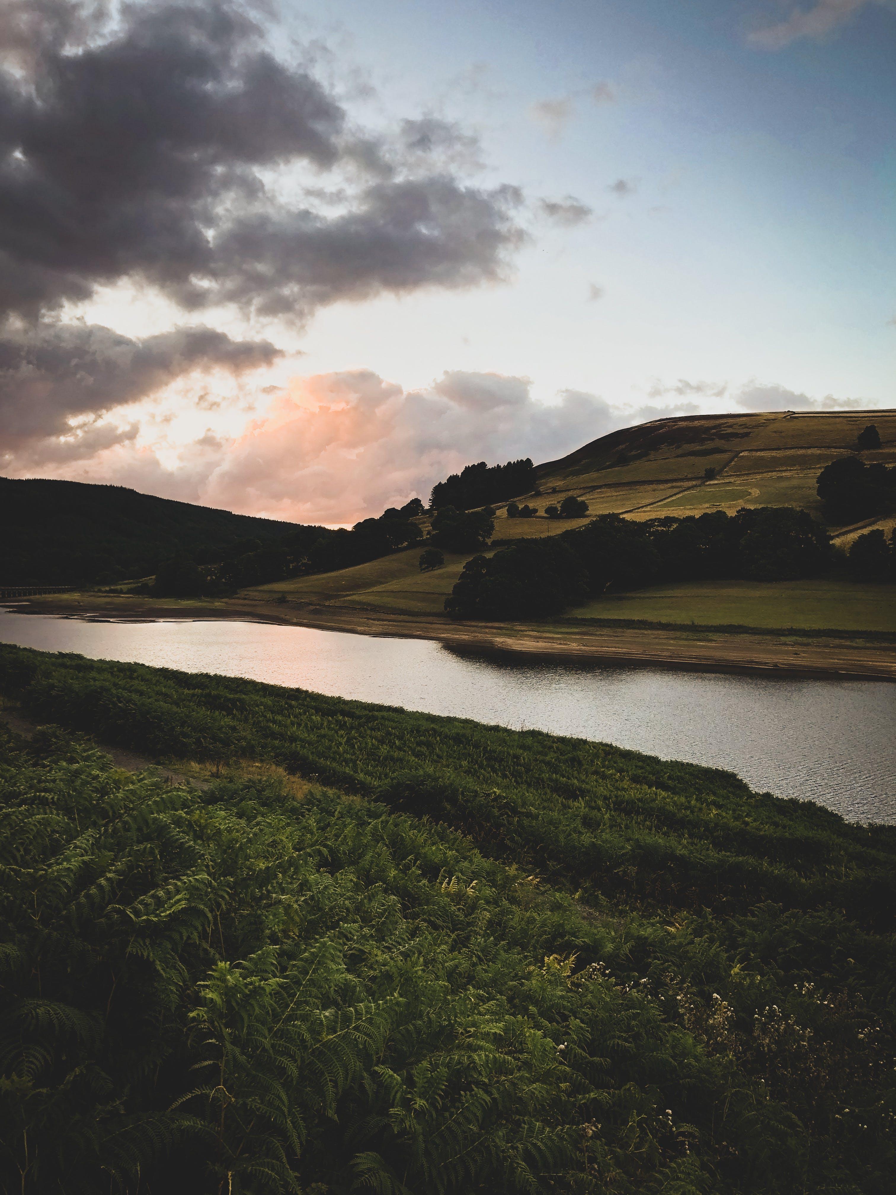 Imagine de stoc gratuită din Anglia, câmpuri, munte, natură