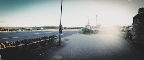 Immagine gratuita di campi, pub, tramonto