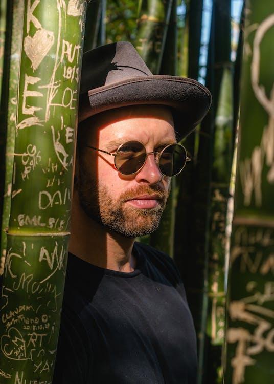 homme, individu, lunettes de soleil