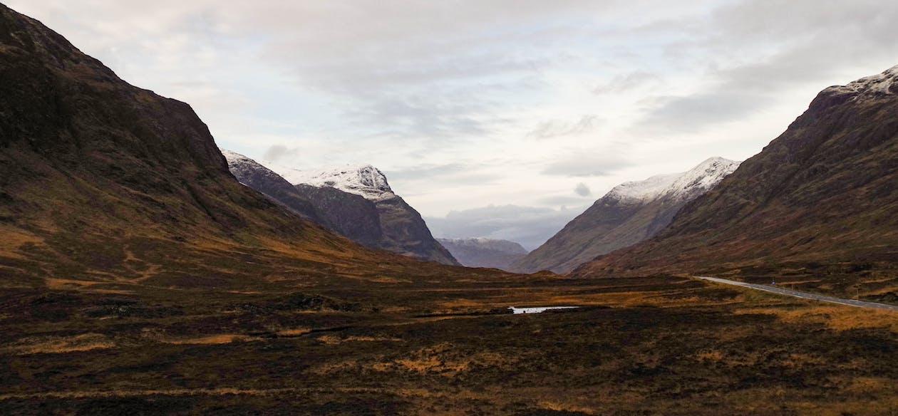 dolina, fotografia przyrodnicza, góry