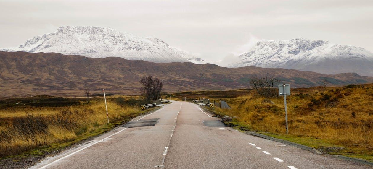 경치, 경치가 좋은, 고속도로