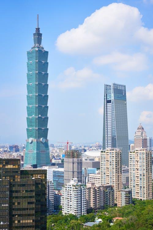 Free stock photo of city, cloud, skyscraper, Taipei