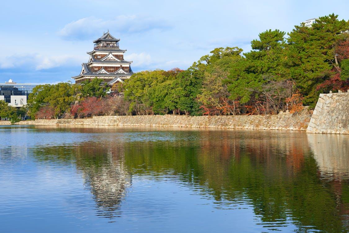 ประเทศญี่ปุ่น, ปราสาท, สะท้อน