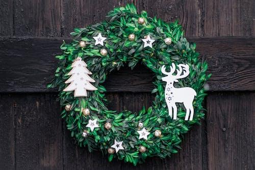 Základová fotografie zdarma na téma design, dveře, vánoce, vánoční ozdoby