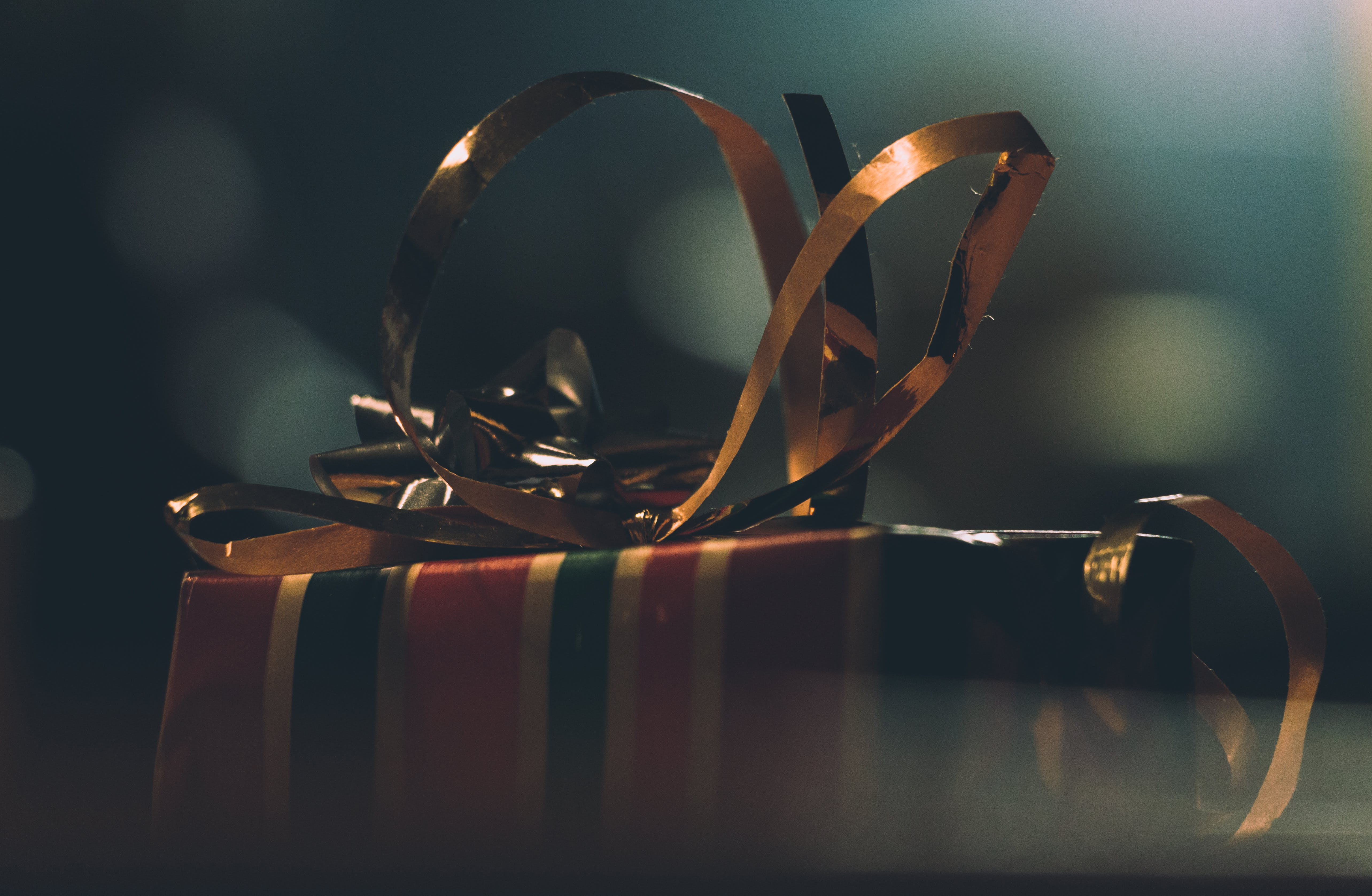 Selective Focus Photography of Gift Box