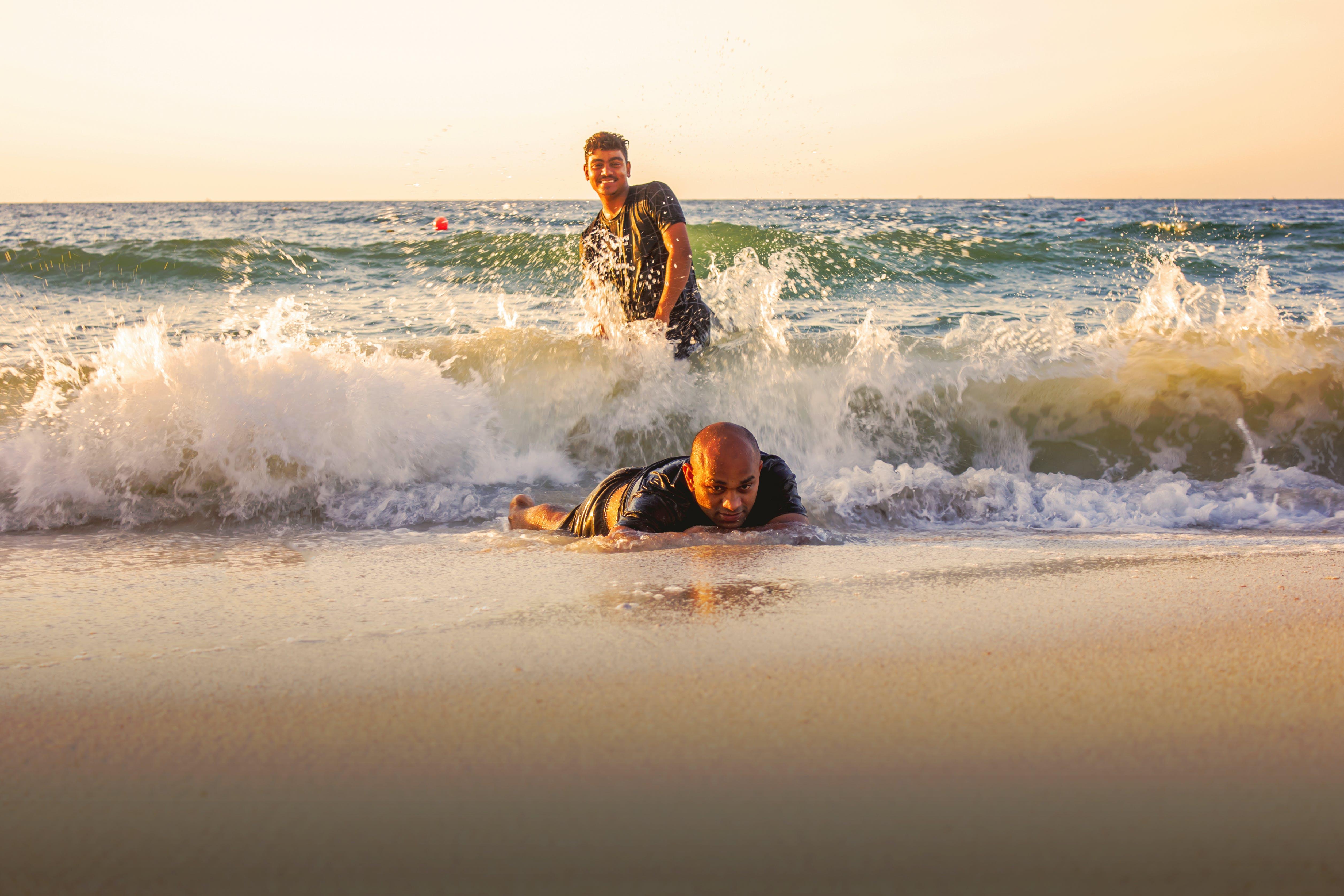 Základová fotografie zdarma na téma moře, plavání, pláž