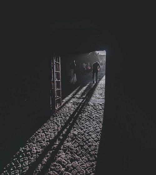 光と影, 影の無料の写真素材