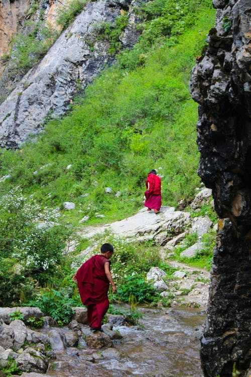 Foto d'estoc gratuïta de alpinisme, amics, aventura, budisme tibetà