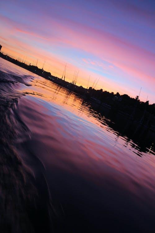 Foto d'estoc gratuïta de alba, aswan, barca, capvespre