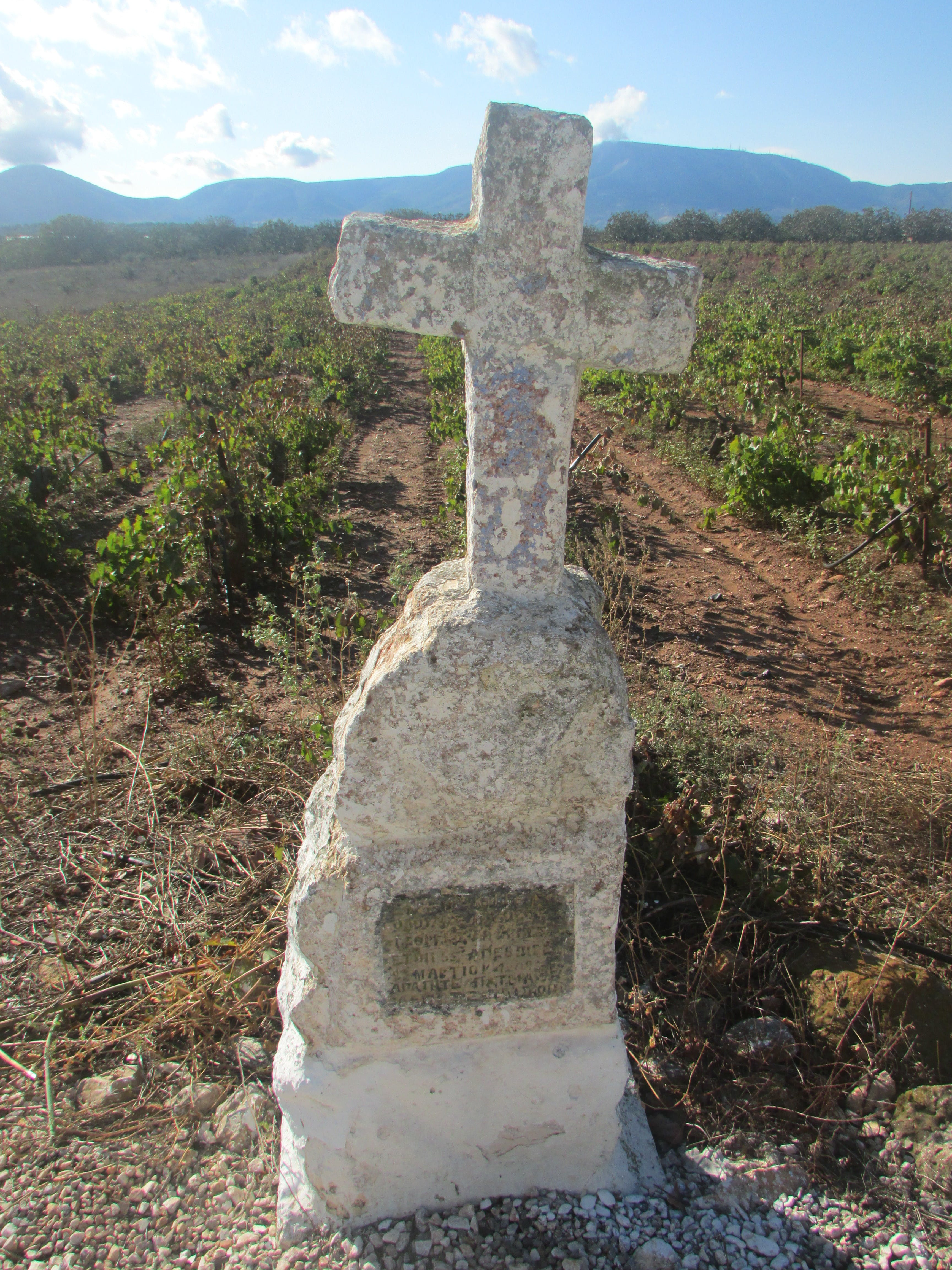 Free stock photo of cross, gravestone, greece