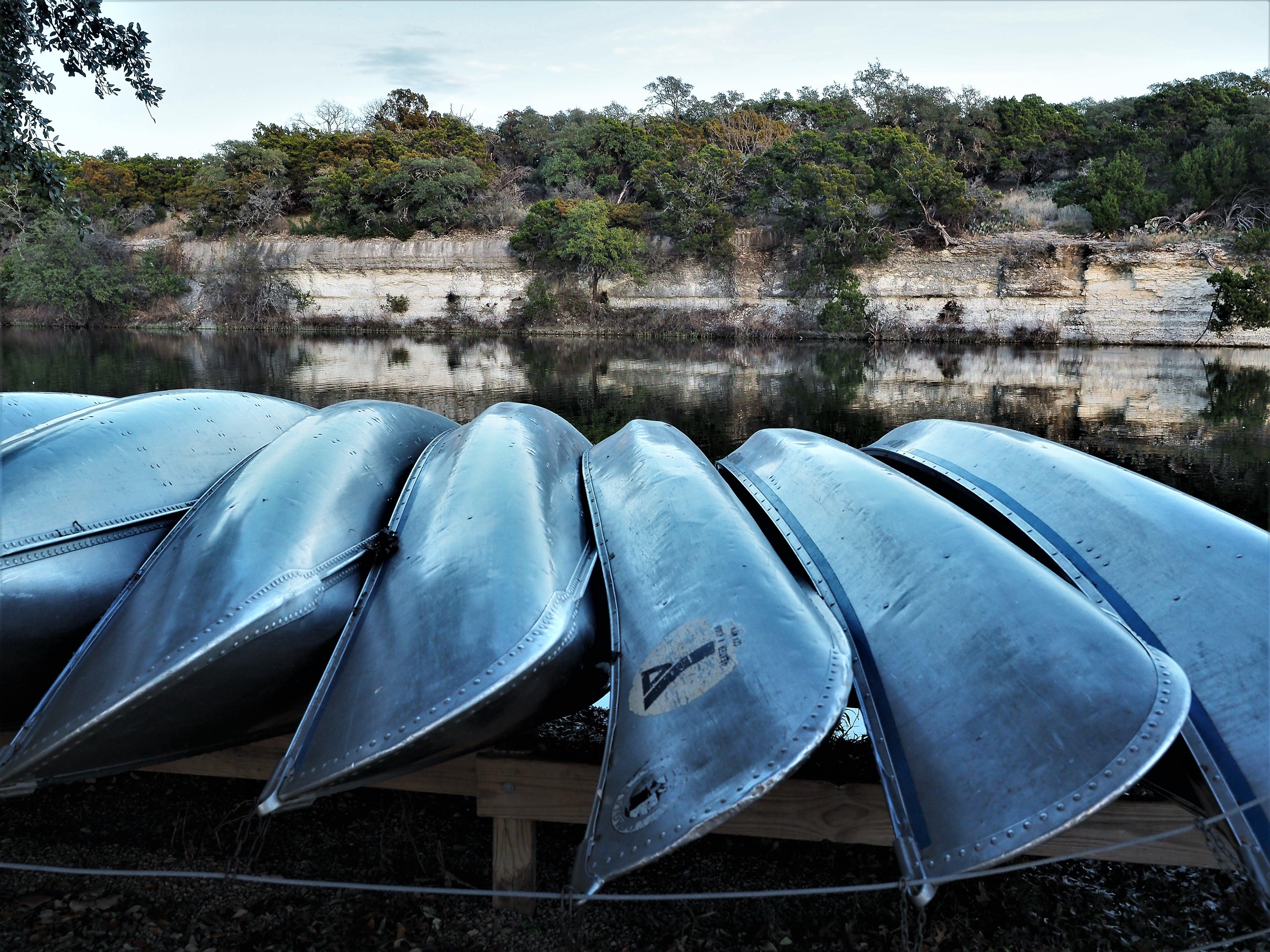 Free stock photo of canoe, lake, water