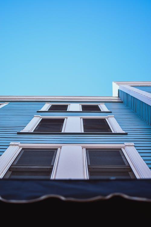 Ảnh lưu trữ miễn phí về các cửa sổ, góc chụp thấp, kiến trúc, quan điểm