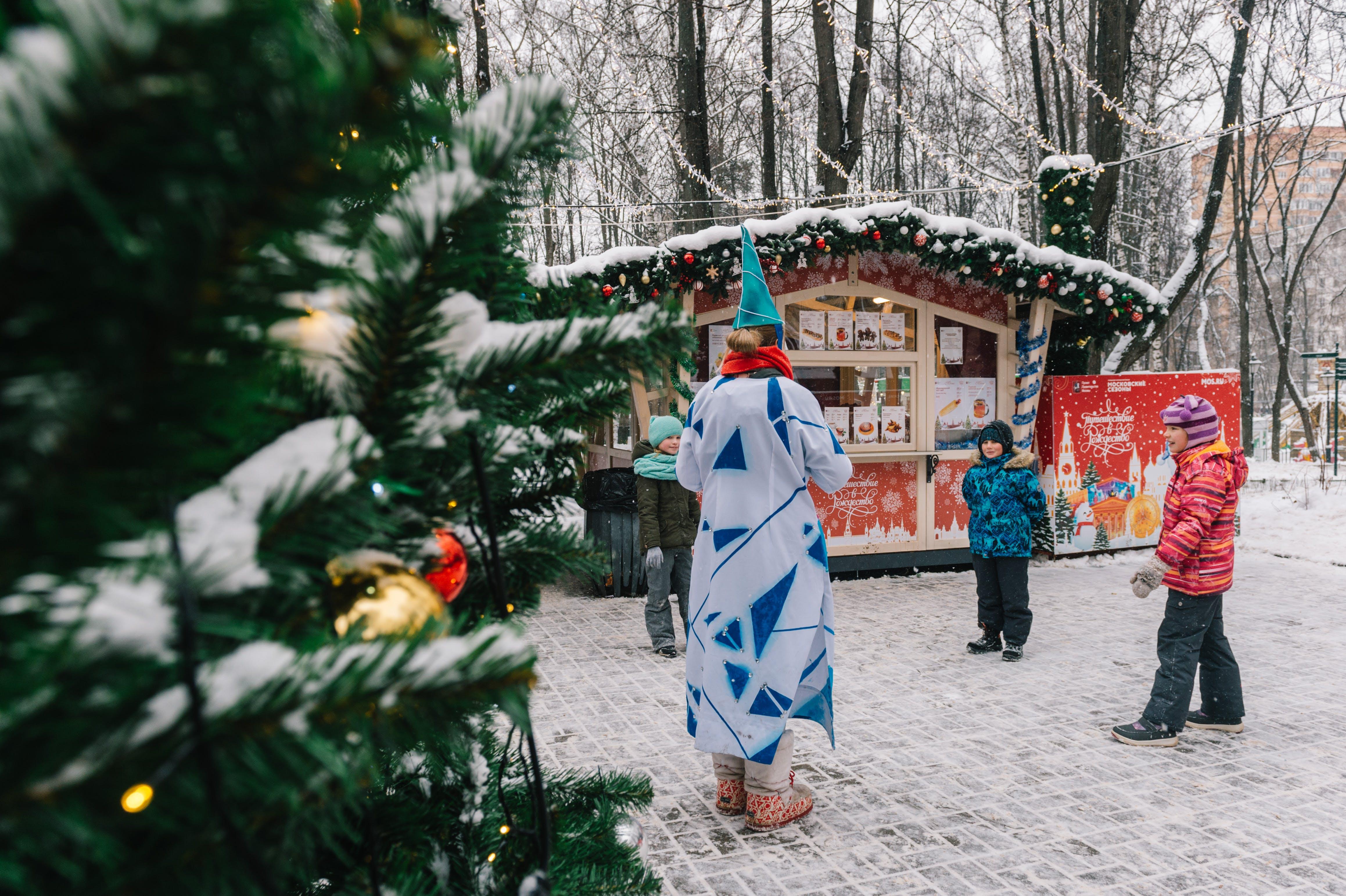 คลังภาพถ่ายฟรี ของ กลางวัน, ของตกแต่งวันคริสต์มาส, คน, ด้วยกัน