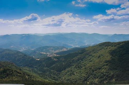 地平線, 夏天, 天性, 山 的 免费素材照片