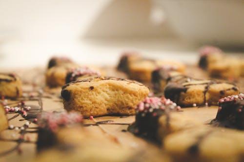 Kostenloses Stock Foto zu cookies, dessert, essen, gebacken