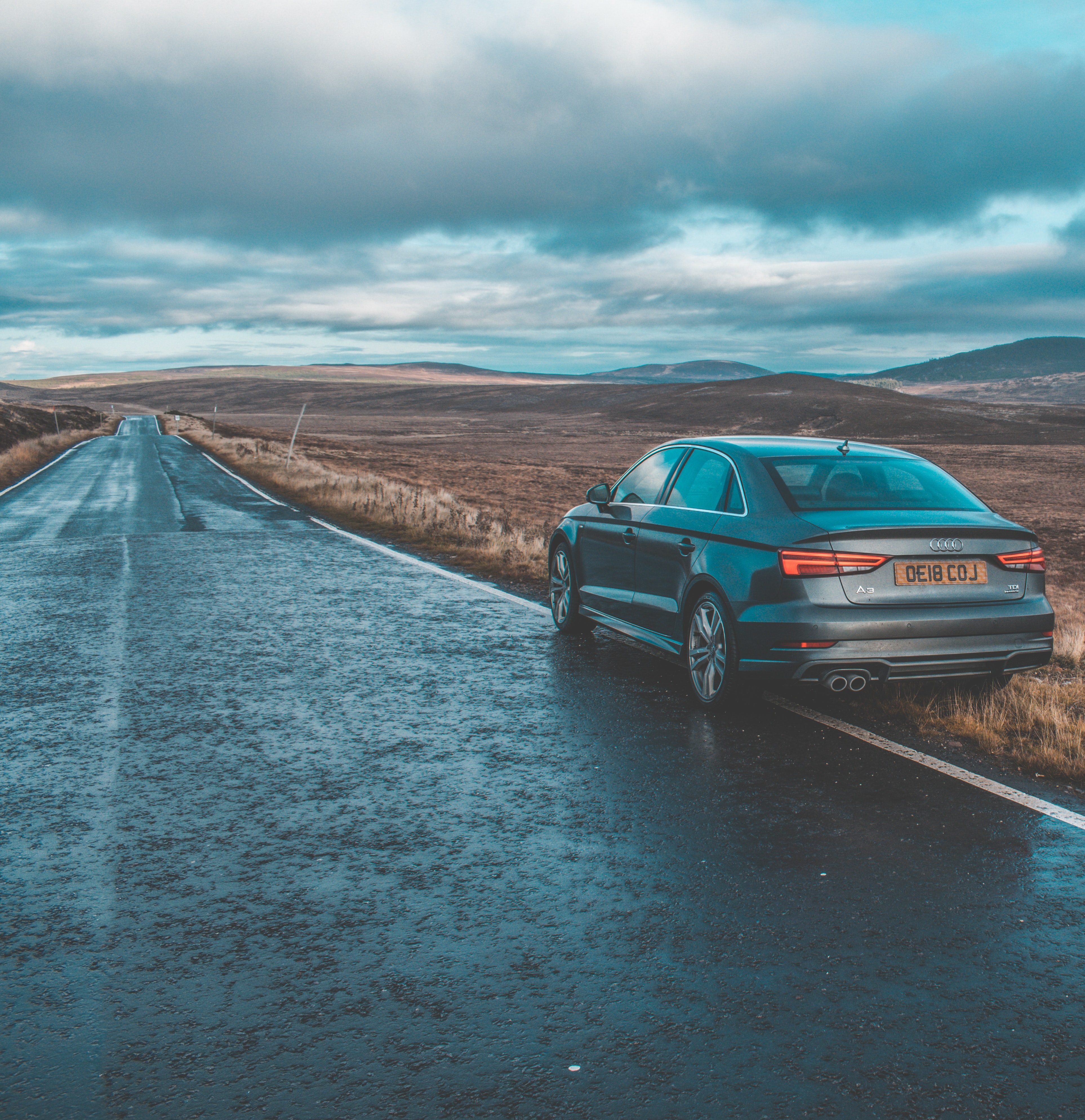 Free stock photo of a3, audi, highlands