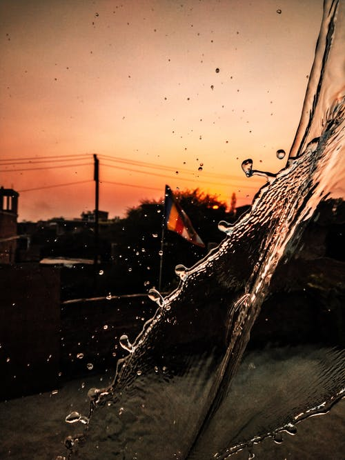 berrak su, bulanık arka plan, donmak, flu arka plan içeren Ücretsiz stok fotoğraf