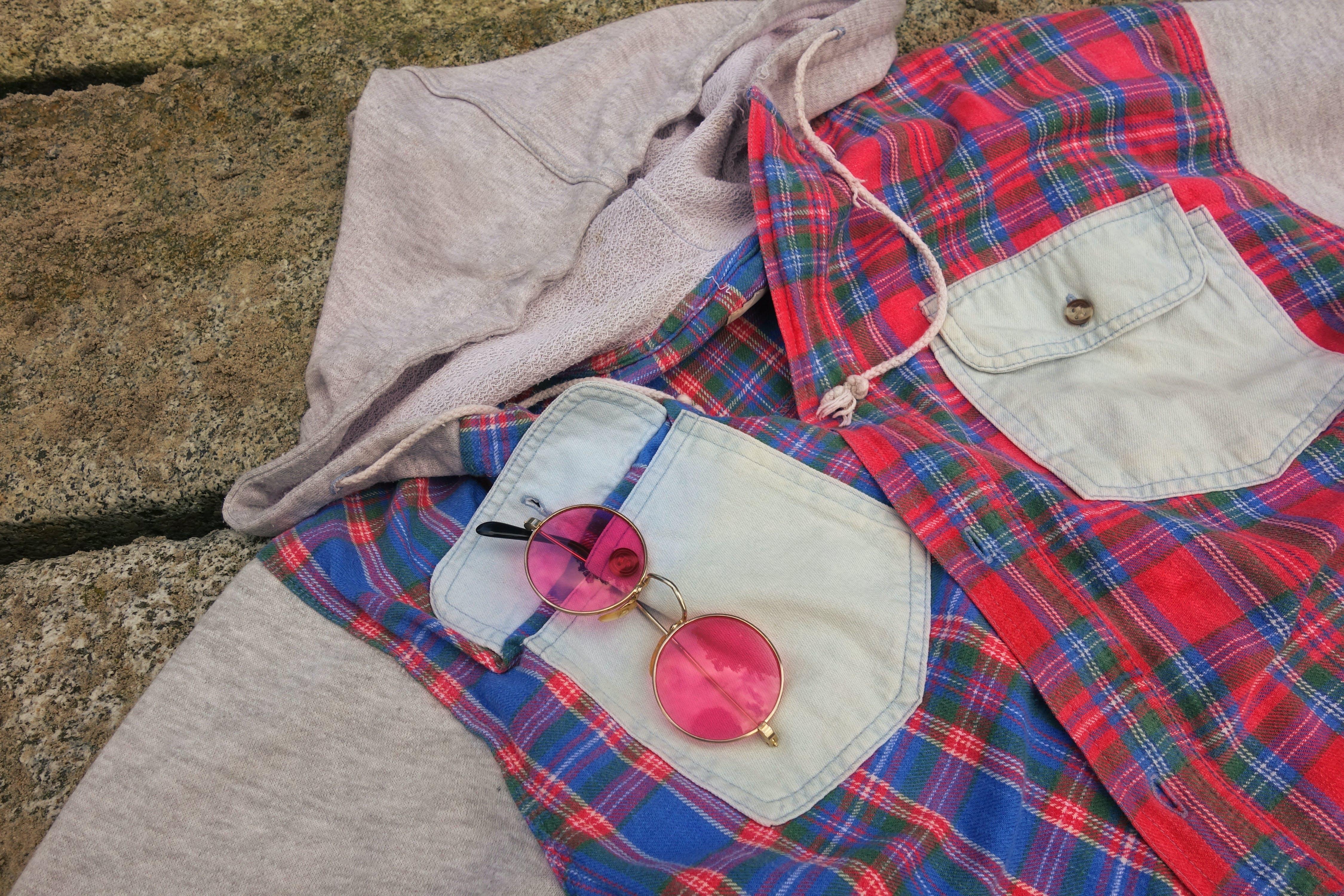 Free stock photo of shirt, clothing, garment, chequered