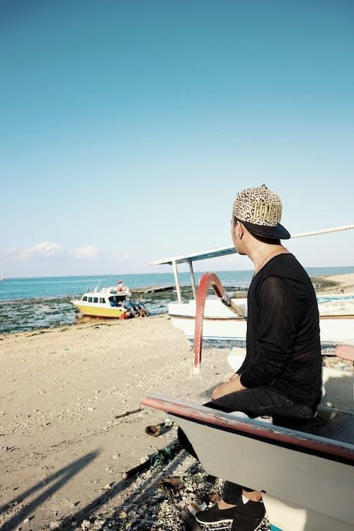 Gratis stockfoto met Bali, boot, iemand, Indonesië