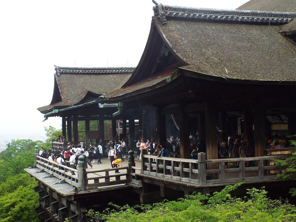 Imagine de stoc gratuită din kiyomizu templu