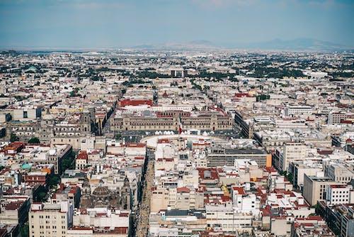 Kostenloses Stock Foto zu gebäude, luftschuß, mexiko, stadt